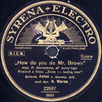 How do you do, Mr Brown?!