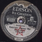 Edison Diamond Record