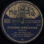 Zielony kapelusik